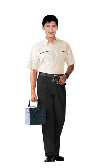 办公室工作服短袖款