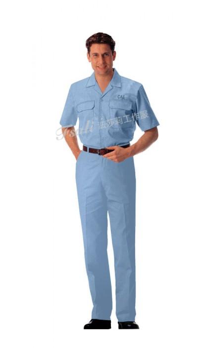 工程服短袖款图片