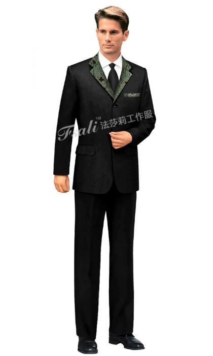 男士酒店前厅制服