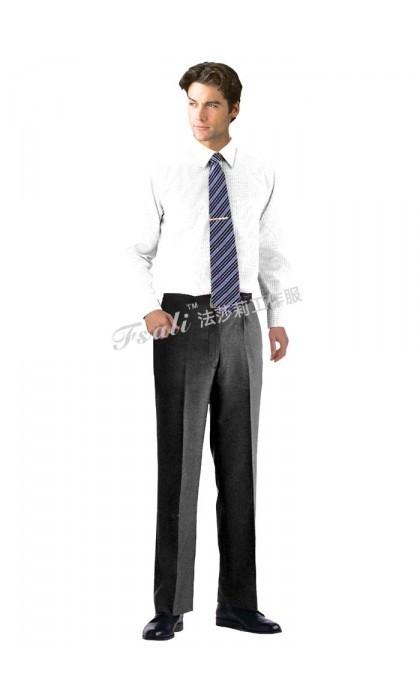 职业装男式长袖衬衫