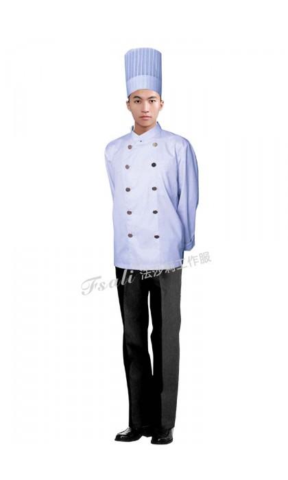 酒店厨师服装图片