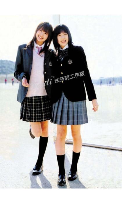 初高中学生服装款式