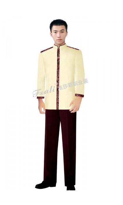 清洁男装制服图片