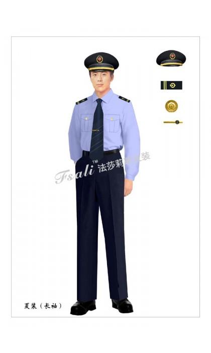 定做执法制服男装