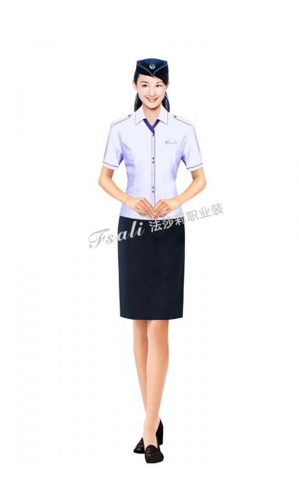 铁路短袖服装图片