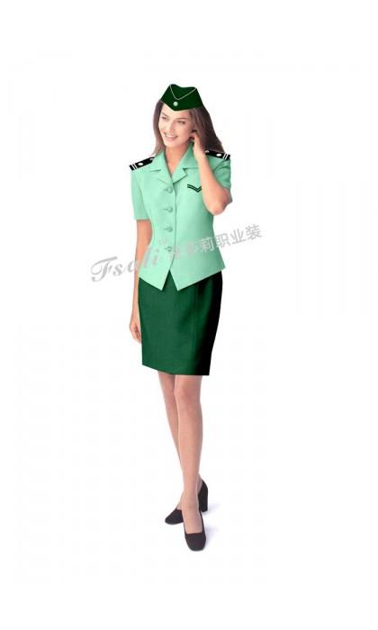 公交短袖制服图片