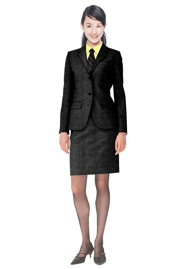 西服式短裙