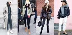豹纹围巾搭配什么裤子更显时尚?