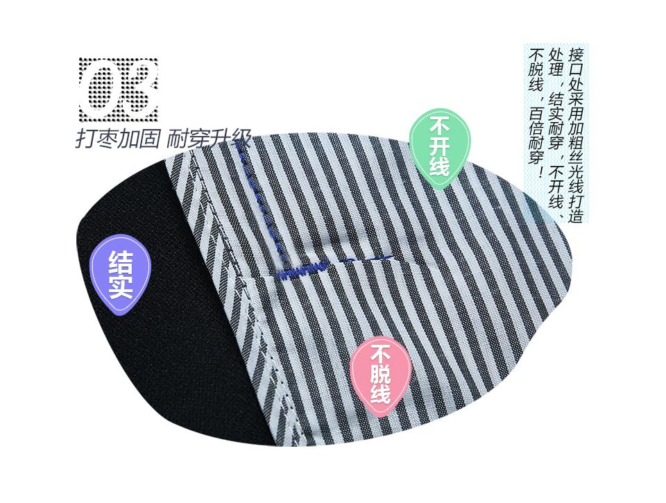 深蓝色春秋纯棉长袖工作服FY808