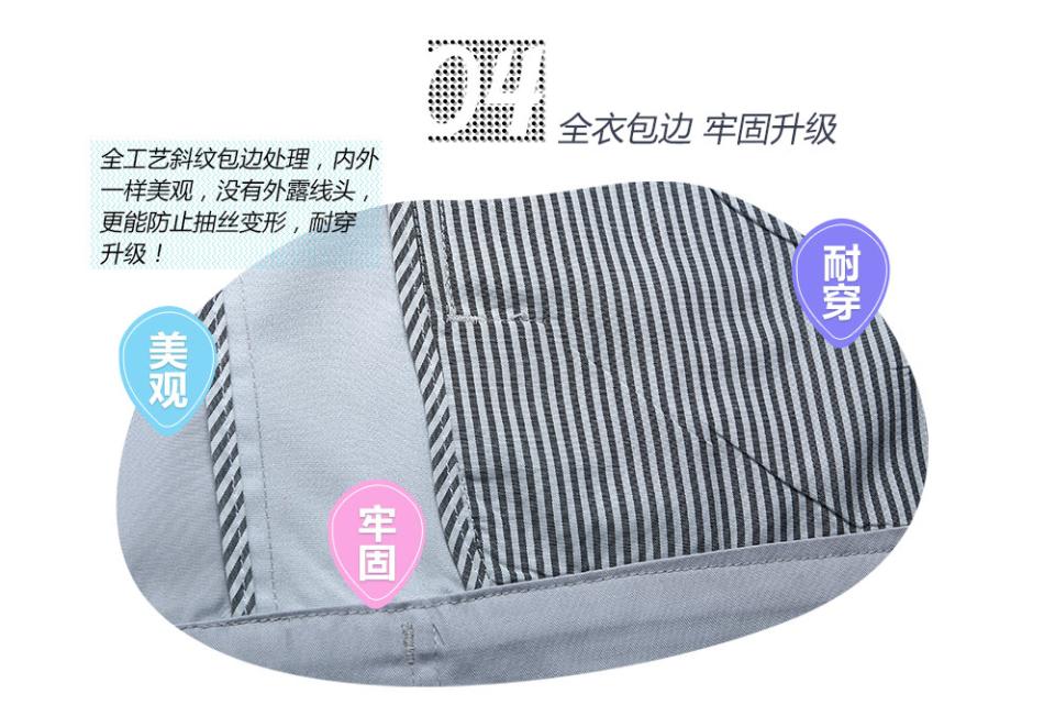 新深蓝色夏季工服FY613