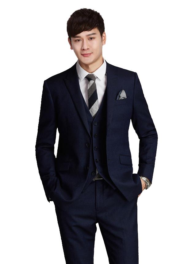 新男士西服套装