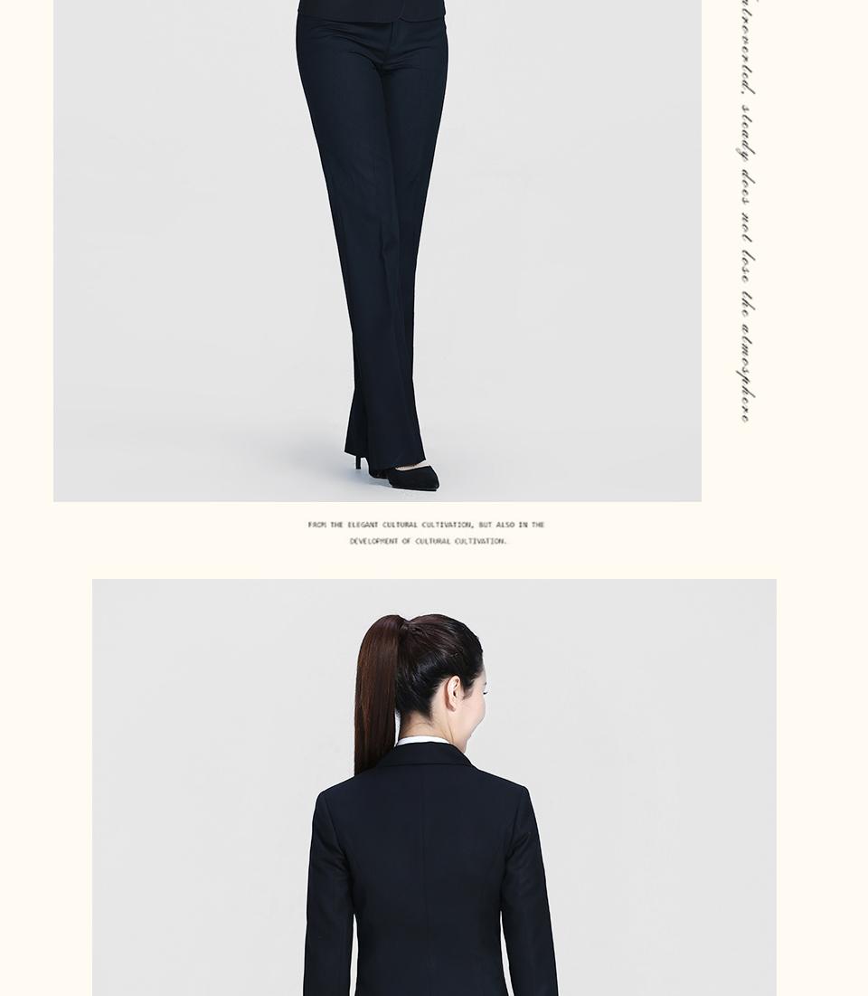 新黑色女士一粒扣职业女装FX03