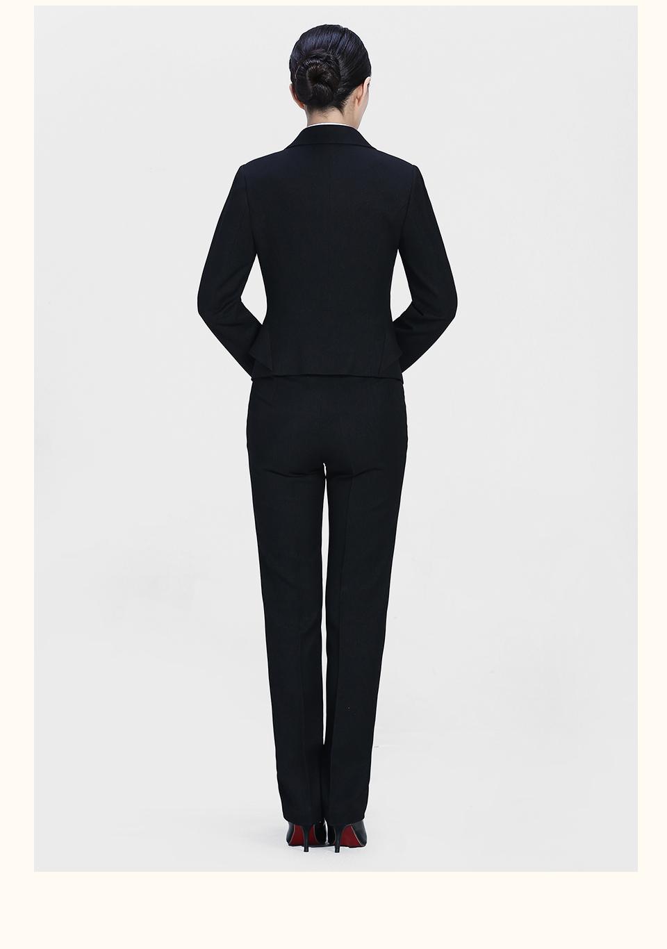 新款女士黑色西裤